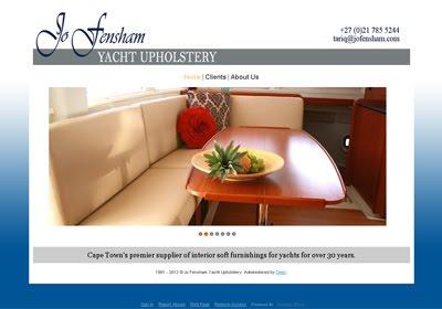 Jo Fensham Yacht Upholstery