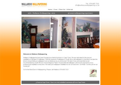 Wallaroo Wallpapering